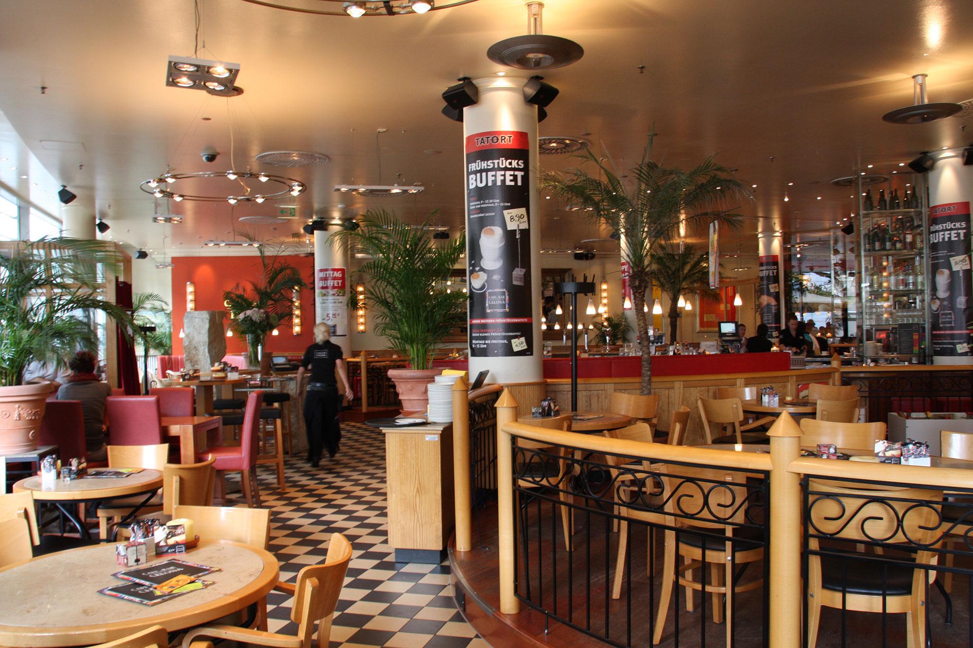 cafe & bar celona siegen - cafe & bar celona, Wohnzimmer